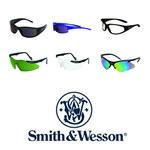 Smith & Wesson Magnum Standard Safety Glasses Clear Lens - Platinum Frame - Wrap Around Frame - 079768-00920