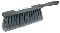 Weiler Green Works 423 Dust Brush - Black Bamboo Handle - Gray Polyethylene Terephthalate Medium Bristle - 8 in Foam Block - 42368