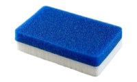 3M Scotch-Brite Aircraft Cleaning Pad - 6 in Width x 12 in in Length - Utilizes Hook and Loop fasteners that attach to the 3M Doodlebug pad holder - 56849