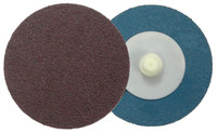 Weiler Coated Aluminum Oxide Quick Change Disc - Cloth Backing - 80 Grit - Medium - 2 in Diameter - 60122