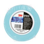 3M 9103 Blue Splicing Tape - 24 mm Width x 55 m Length - 4.5 mil Thick - Release Paper Liner - 17521