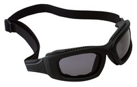 3M Maxim 40699-00000 Polycarbonate Safety Goggles Gray Lens - Black Frame - Non-Vented - 078371-40699