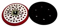 3M Hookit 20356 Hard Red Disc Pad - 6 in Diameter - 3/8 in Thick - External Thread Attachment