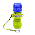 """PIP E-Flare 939-TF250 Blue Safety Beacon - (4) """"AA"""" Alkaline batteries Powered - 6 in Height - 616314-15450"""