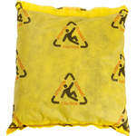 Brady BRIGHTSORB Yellow Polypropylene 14 gal Absorbent Pillow CH1818 - 18 in Width - 18 in Length - 662706-90400