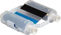Brady B30-R10000-KB-8 Black/Blue Printer Ribbon Roll - 4.33 in Width - 200 ft Length - Cartridge - 94021