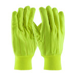 PIP 92-918PCY High-Visibility Yellow Universal Polycord General Purpose Gloves - Straight Thumb - 11 in Length