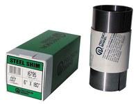 Precision Brand 1008-1010 Full Hard Steel Shim Stock - 6 in Width x 180 in Length x 0.008 in Thick - 16AJ8