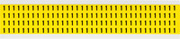 Brady 34 Series 3400-1 Black on Yellow Vinyl Cloth Number Label - Indoor - 1/4 in Width - 3/8 in Height - 1/4 in Character Height - B-498