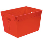 Red Space Age Totes - 18 in x 13 in x 12 in - SHP-3075