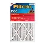 3M Filtrete Allergen Defense 25 in x 25 in x 1 in 9815DC-6 MERV 11, 1000 MPR Air Filter - 09815