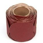 3M Cubitron Stikit 763U Coated Ceramic Disc Roll - Medium Grade - 80 Grit - 5 in Diameter - 80943