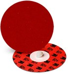 3M Cubitron II 984F Ceramic Quick Change Disc - Cloth Backing - YF Weight - 80+ Grit - 4 in Diameter - 87246