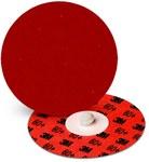 3M Cubitron II 984F Ceramic Quick Change Disc - Cloth Backing - YF Weight - 80+ Grit - 4 in Diameter - 87246