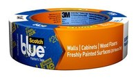 3M ScotchBlue 2080 Painter's Tape - 1 1/2 in Width x 45 yd Length - 92083