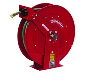 Reelcraft Industries TW80000 Series Gas Weld T-Grade Hose Reel - 100 ft Hose Included - Spring Drive - TW84100 OLPT