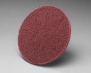 3M Scotch-Brite CF-DC Aluminum Oxide Deburring Disc - Very Fine Grade - 11 in Diameter - 33714