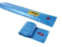 Justrite Blue Boom Diverter - 25 ft Length - 697841-15724