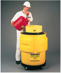 Eagle Yellow Polyethylene Spill Containment Drum - 33 in Height - 31 in Overall Diameter - 048441-60213