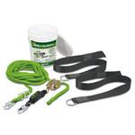 Miller Techline HLLR2 Fall Protection Kit - 60 ft Length - 612230-14883