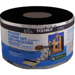 Polyken Foilastic Silver Flashing Tape - 4 in Width x 100 ft Length - 20 mil Thick - 626-20P 4 X 100FT ALUM