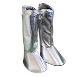 Chicago Protective Apparel Aluminized Carbon Kevlar Fire Resistant Gaiters - 333-ACK