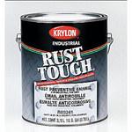 Krylon Industrial Coatings Rust Tough 90792 White Gloss Alkyd Enamel Paint - 5 gal Pail - 49079
