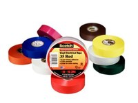 3M Scotch 35 Multi-Color Electrical Marking Tape - 1/2 in Width x 20 ft Length - 7 mil Thick - 90529