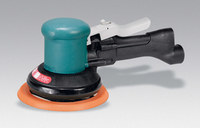 "Dynabrade 58406 6"" (152 mm) Dia. Two-Hand Dynorbital Random Orbital Sander, Self-Generated Vacuum"