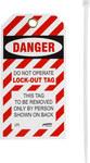 Brady LT1 Lockout / Tagout Tag - 45654