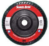 3M Scotch-Brite Clean & Strip XT Pro Extra Cut Disc - Aluminum Oxide - 4 1/2 in Diameter - Quick Change TN