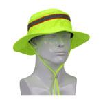 PIP Ez-Cool Hi-Vis Lime Yellow Large/XL Polyester Cotton Cooling Ranger Hat - 616314-22297