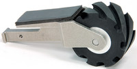 """Dynabrade 15350 Contact Arm Assembly, 1"""" (25 mm) Dia. x 2"""" (51 mm) W, Serrated Wheel"""
