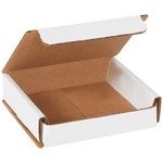 Oyster White Corrugated Mailer - 4 in x 4 in x 1 in - SHP-2484