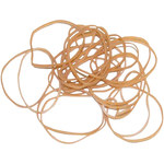 Shipping Supply Brown Rubber Bands - 2 1/2 in x 1/16 in - SHP-11533
