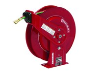 Reelcraft Industries TW7000 Series Gas Weld T-Grade Hose Reel - 50 ft Hose Included - Spring Drive - TW7450 OLPT