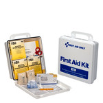 First Aid Only First Aid Kit - Plastic Case Construction - 738743-00012