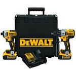 Dewalt Cordless Hammerdrill & Impact Driver Combo Kit - DCK299P2