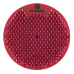Adenna Airworks Red Orchard Spice Urinal Screen - ADENNA AWSFUS230-BX