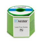 Kester 331 Water Soluble Flux Core Lead-Free Solder Wire - 1 lb - 0.062 in Wire Diameter - Sn/Ag/Cu Compound - 24-7068-6411