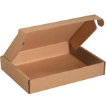 Shipping Supply Kraft Literature Mailers - 11 1/8 in x 8 3/4 in x 2 in - SHP-11670