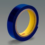 3M Scotchmate SJ3418FR Blue Reclosable Fastener - Loop - 1 in Width x 50 yd Length - 07665
