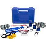 Brady Prinzing Blue Lockout/Tagout Kit - 754473-45254