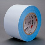 3M 398FR White Cloth Tape - 1 in Width x 36 yd Length - 7 mil Thick - 96670