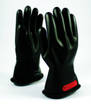 PIP Novax 150-0-11 Black 9 Rubber Work Gloves - 11 in Length - Smooth Finish - 150-0-11/9