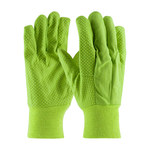 PIP 91-910PD Green Canvas General Purpose Gloves - 91-910PDL