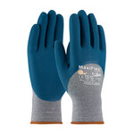 PIP MaxiFlex 34-9025 Blue/Gray Large Cotton/Lycra/Nylon Work Gloves - EN 388 1 Cut Resistance - Nitrile Palm & Over Knuckles Coating - 8.7 in Length - 34-9025/L