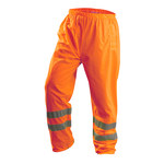 Occunomix Lux-Ten High-Visibility Orange Large PVC on Polyester High-Visibility Pants - 31 in Inseam - 021844-56540