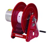 Reelcraft Industries T Series Dual Side-by-Side Arc Weld Cable Reel - Hand Crank Drive - 250 Amps - 600V - T-2462-0