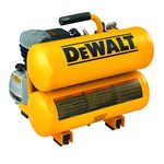 Dewalt 4 gal Air Compressor - 1.1 hp - 90 psi Max - D55153